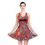 Carpet Orient Pattern Reversible Skater Dress