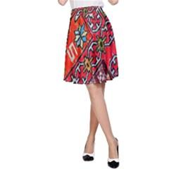 Carpet Orient Pattern A Line Skirt