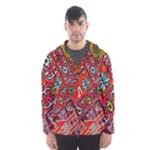 Carpet Orient Pattern Hooded Wind Breaker (Men)