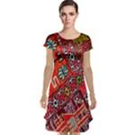 Carpet Orient Pattern Cap Sleeve Nightdress