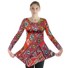 Carpet Orient Pattern Long Sleeve Tunic