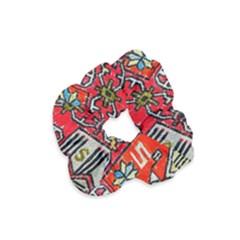 Carpet Orient Pattern Velvet Scrunchie