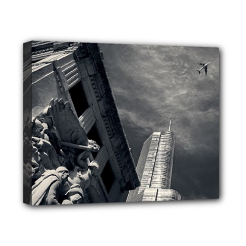 Chicago Skyline Tall Buildings Canvas 10  X 8  by BangZart