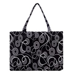 Floral Pattern Background Medium Tote Bag