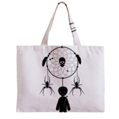 Voodoo Dream Catcher  Zipper Mini Tote Bag by Valentinaart