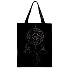 Voodoo Dream Catcher  Zipper Classic Tote Bag by Valentinaart