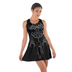Voodoo Dream Catcher  Cotton Racerback Dress by Valentinaart