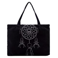 Voodoo Dream Catcher  Zipper Medium Tote Bag by Valentinaart