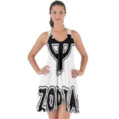 Zodiac Killer  Show Some Back Chiffon Dress