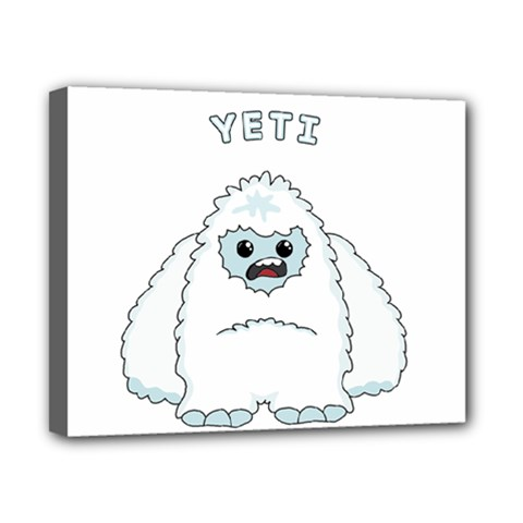 Yeti Canvas 10  X 8  by Valentinaart
