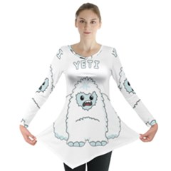 Yeti Long Sleeve Tunic  by Valentinaart