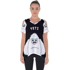 Yeti Cut Out Side Drop Tee