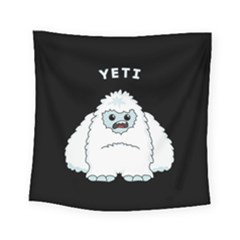 Yeti Square Tapestry (small) by Valentinaart