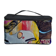 Graffiti Mural Street Art Painting Cosmetic Storage Case by BangZart