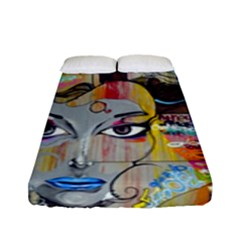Graffiti Mural Street Art Painting Fitted Sheet (full/ Double Size) by BangZart