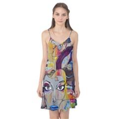 Graffiti Mural Street Art Painting Camis Nightgown