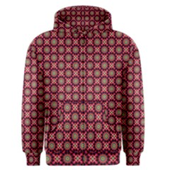 Kaleidoscope Seamless Pattern Men s Zipper Hoodie