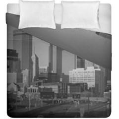 Minneapolis Minnesota Skyline Duvet Cover Double Side (king Size)