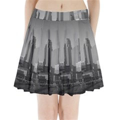 Minneapolis Minnesota Skyline Pleated Mini Skirt