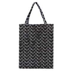 Sparkling Metal Chains 01b Classic Tote Bag by MoreColorsinLife