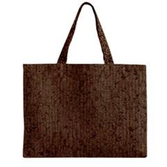Sparkling Metal Chains 02a Zipper Mini Tote Bag by MoreColorsinLife