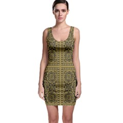 Seamless Pattern Design Texture Bodycon Dress