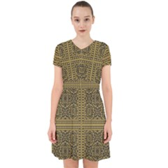 Seamless Pattern Design Texture Adorable In Chiffon Dress
