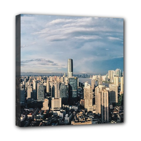Shanghai The Window Sunny Days City Mini Canvas 8  X 8