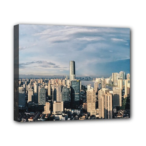 Shanghai The Window Sunny Days City Canvas 10  X 8