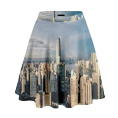 Shanghai The Window Sunny Days City High Waist Skirt by BangZart