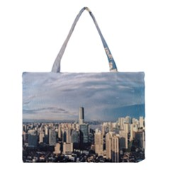 Shanghai The Window Sunny Days City Medium Tote Bag by BangZart