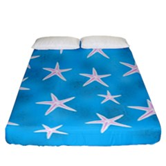 Star Fish Fitted Sheet (california King Size) by allgirls