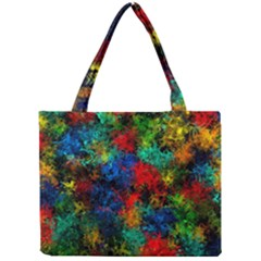 Squiggly Abstract A Mini Tote Bag by MoreColorsinLife