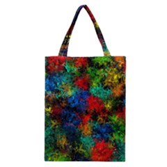 Squiggly Abstract A Classic Tote Bag by MoreColorsinLife