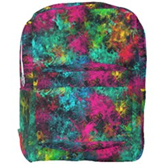 Squiggly Abstract B Full Print Backpack by MoreColorsinLife