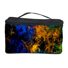 Squiggly Abstract C Cosmetic Storage Case by MoreColorsinLife