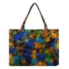 Squiggly Abstract C Medium Tote Bag by MoreColorsinLife