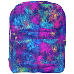 Squiggly Abstract E Full Print Backpack by MoreColorsinLife