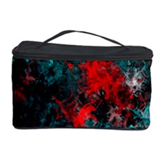 Squiggly Abstract D Cosmetic Storage Case by MoreColorsinLife