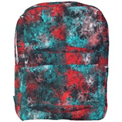 Squiggly Abstract D Full Print Backpack by MoreColorsinLife