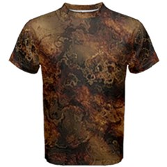 Wonderful Marbled Structure A Men s Cotton Tee by MoreColorsinLife