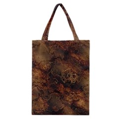 Wonderful Marbled Structure A Classic Tote Bag by MoreColorsinLife