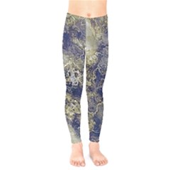 Wonderful Marbled Structure D Kids  Legging by MoreColorsinLife