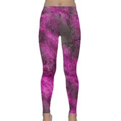 Wonderful Marbled Structure C Classic Yoga Leggings by MoreColorsinLife