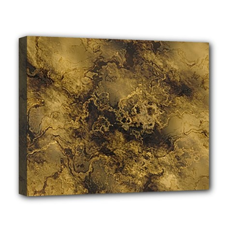 Wonderful Marbled Structure B Deluxe Canvas 20  X 16   by MoreColorsinLife
