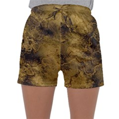 Wonderful Marbled Structure B Sleepwear Shorts