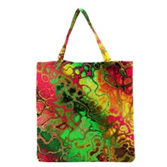 Awesome Fractal 35i Grocery Tote Bag