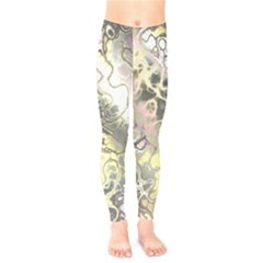 Awesome Fractal 35h Kids  Legging by MoreColorsinLife