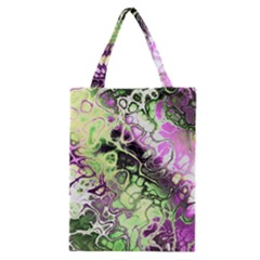 Awesome Fractal 35d Classic Tote Bag by MoreColorsinLife