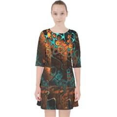 Awesome Fractal 35f Pocket Dress